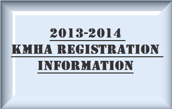 Registration Information for the 2013-2014 Season