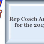 Rep Coach Announcement for the 2013/14 season
