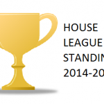 HOUSE LEAGUE STANDINGS