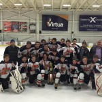 Major Bantam B Team Wins Voorhees Tournament