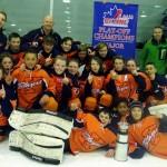 Kanata Blazers Major Peewee AA win OEMHL Championship