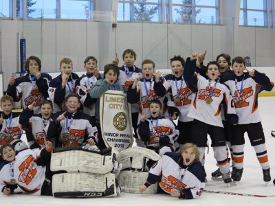 Congratulations to the Kanata Blazers Minor Peewee AA team for winning the 2016 Limestone City Cup in Kingston