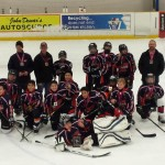 Peewee B6 Warriors go to the finals in Peterborough