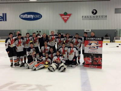 Kanata Blazers  Major Midget B capture second Tournament Win of the Year