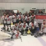 KMHA Peewee C2 Tournament Victory