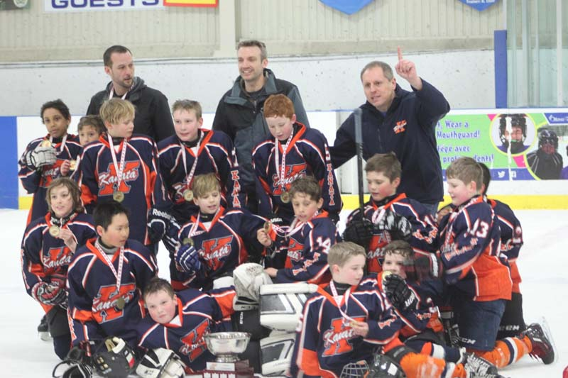 Congratulations to the Atom B Champions, the B1 Gladiators on their exciting win! Way to go team!